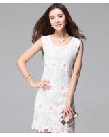 WD21169 Sleeveless Dress As Picture