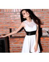 BM70367 Pretty Dress White
