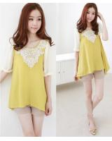 WT21180 Pretty Top Yellow