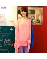 BM70376 Lovely Loose Top Pink