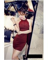 WD21213 Sexy Dress Red