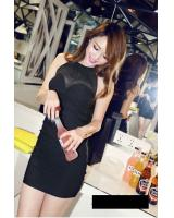 WD21213 Sexy Dress Black