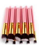 SH-607 Make Up Brush Set (10pcs IN 1) Pink