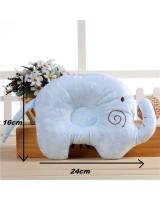 SH-609 Baby/Infant Head Shaping ELEPHANT Pillow Blue