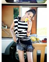 WT21341 Stylish Stripe Top As Picture