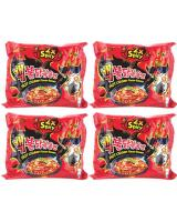 JP012 Samyang 2x Spicy PROMO COMBO OF FOUR - 4X5PX140G