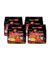 JP012 Samyang Hot Chicken Ramen PROMO COMBO OF FOUR - 4X5PX140G