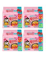 JP012 SAMYANG Hot Chicken Carbonara Raman PROMO COMBO OF FOUR - 4X5PX140G