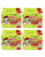 JP012 SAMYANG Hot Spicy Jjajang Ramen PROMO COMBO OF FOUR - 4X5PX140G