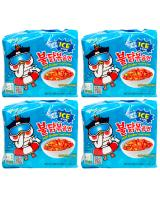 JP012 Samyang Hot Spicy Cool Ramen PROMO COMBO OF FOUR - 4X5PX140G