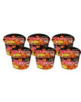 JP013 SAMYANG Hot Chicken Ramen Big Bowl PROMO COMBO OF SIX - 6x105g