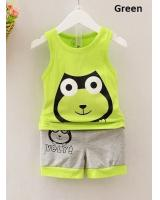 SWK91039 Kids Top and Pant Set Green