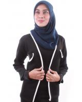 MH118 Trendy Jacket Black