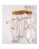 SH-614 Newborn Baby Clothing Sets White