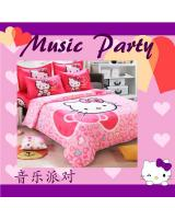 RV013 Cartoon Bedsheet Party