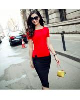 BM70976 Simple Top Red