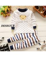SH-618 Kids Top and Pant Set Design B