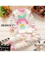 SH-618 Kids Top and Pant Set Design C