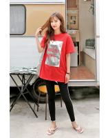 KB10091 Stylish Top Red