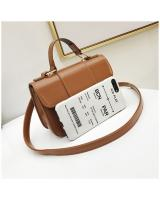 KW80337 Casual Sling Bag Light  Brown