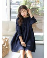 KB10112 Pretty Dress Navy