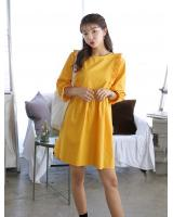 KB10112 Pretty Dress Yellow