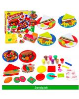 WV9200 Kids Colour Plasticine Set Sandwich