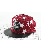 QA-436 Casual Snapback Caps Lux Red