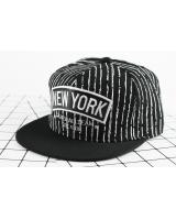 QA-436 Casual Snapback Caps NY Black