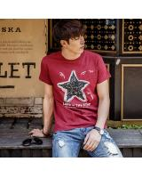 KB10265 Fashion Men's Top Maroon