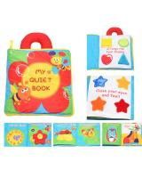 ET 851 Kids Fabric Learning Book Flower