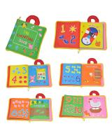 ET 851 Kids Fabric Learning Book Counting