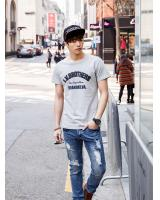 KB10271 Stylish Men's Top Grey