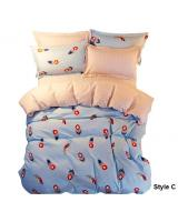 HL1005 Fun 3 in 1 Queen Fitted Bedsheet Set C