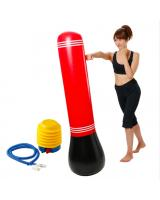 SB-204 Inflatable Punching Bag- Red