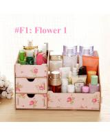 BL5000 Wooden Cosmetic Organizer Flower One