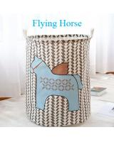 BL5007 Cute Laundry Basket Horse