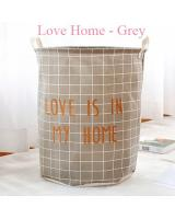 BL5009 Stylish Laundry Basket Home Grey