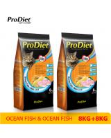 PS1002 ProDiet Cat Food Ocean Fish 2 packs