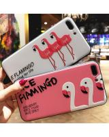 HM 831 Flamingo iPhone 7/8 Case White