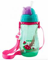 BP-419 BABY DRINKING WATER WITH STRAW BOTTLE GREEN