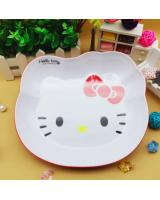 TC4001 Hello Kitty Melamine Plate Red