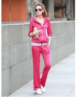WT21545 Sport Top and Pant Set Pink