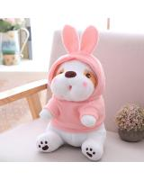 HM 850 Cute Dog Teddy Bear Pink