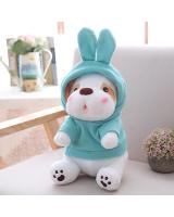 HM 850 Cute Dog Teddy Bear Blue