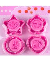 TC4011 Cartoon Biscuit Mold Pink
