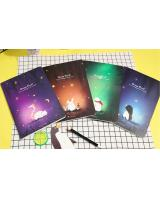 ST-508 Memo Diary Book Dream Forest Series (4 in 1)