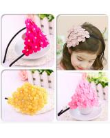 BS903 Flower Hairband Pink