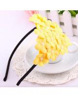 BS903 Flower Hairband Yellow