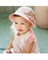 BS915 Baby Two-Side Use Hat Pink